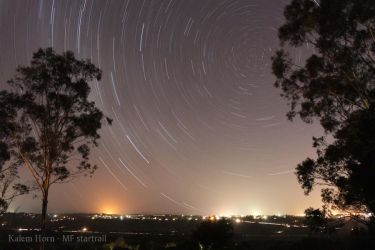 My First Startrail 'low noise' by snaphappy7530
