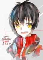 Happy B-day Jin!! by rooo-oot
