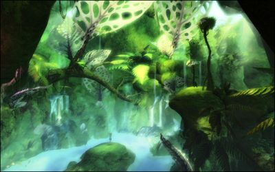 Guild Wars 2 - Caledon Forest by VoidNu