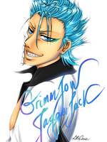 + Grimmjow + by Lili-ve