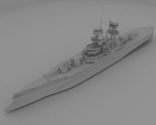 W.i.P 2: Heavy Cruiser by AceDarkfire