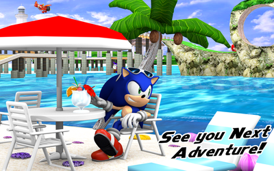 Sonic Adventure, Sonic Story Fin Remake by Nibroc-Rock