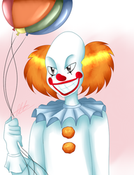 Book! Pennywise by WaterFox-Studios