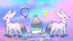 Orion- Approved MYO Pillowing by Freezeash