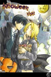 FMA : Halloween night by dezequs