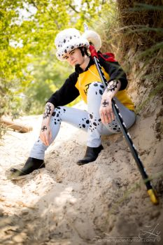 Don't order me around | Trafalgar Law [Sabaody] IV by PirateHeartbeat