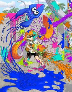 Splatoon by iangoudelock