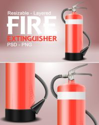 Fire Extinguisher | PSD by abdelrahman