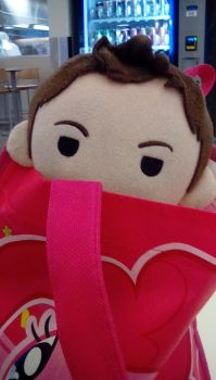 Plushie!Dean- What are you doing? by Tokiogirl21