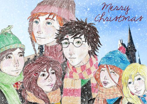 A Very Potter Christmas by lunalove2