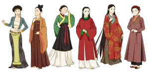 Women's  Vietnamese Clothes by Glimja