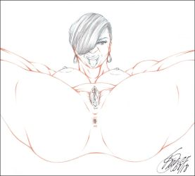 SPREADIN' THICK THIGHZ PENCIL by ARTofTROY
