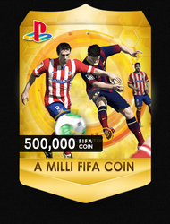 Fifa Coin Badge by amoeed