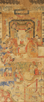 18th-Century Chinese Hell Scroll by Ghostexorcist