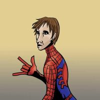 Peter Parker by Alex-Claw