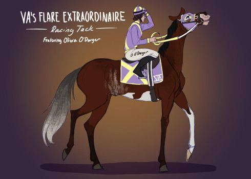 Phoenix's Racing Tack by ValkyrieAcres