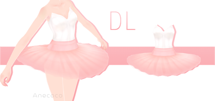 .:: MMD - Ballerina costume DOWNLOAD ::. by AneCoco