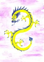 Chinese Dragon by Scellanis