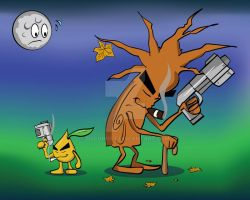 THE BADD SEED and THE TREE OF EEVIL by DJCgHost
