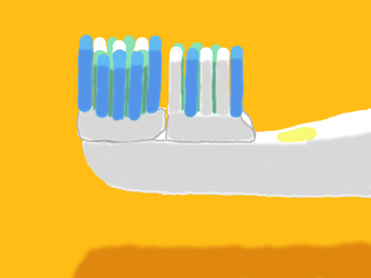 Toothbrush by DragonQuestWes