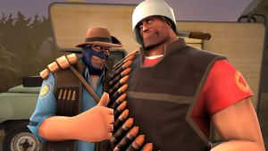 Intelligent Heavy and Spyper by TheLisa120