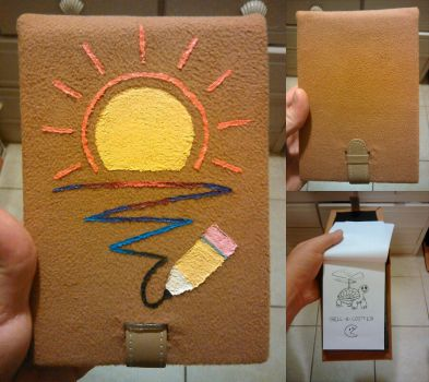 Custom Sketchpad Case by SketchinEtch