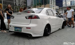 Stanced Lancer by RMCDriftr