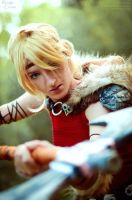 How to train your dragon 2: Astrid Cosplay I by Hanuro-Sakura