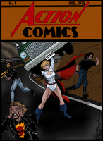 Alternate Universe Action Comics No.1 by Joe-Singleton