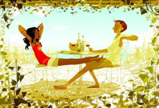 Lunch by PascalCampion