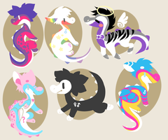 Share The Love Doodle Croc Adopts by SoundOfTheCrocodile