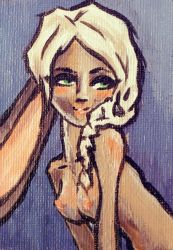 ACEO: Bunny Girl by guava