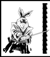 Usagi Yojimbo by PowderAkaCaseyJones