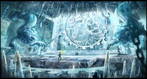 The Frozen Chamber by BlueRogueVyse