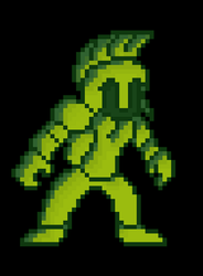 Retro GameBoy Knight by Mammouth55
