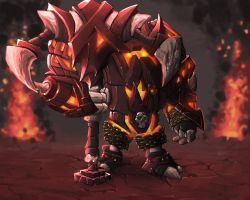 League of Legends - Hellspawn Nautilus by Isural