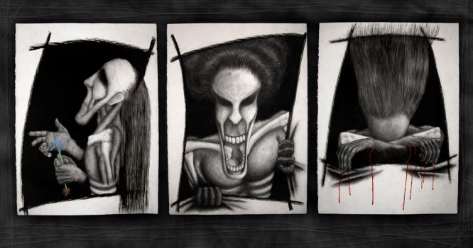 The three faces of Misery by 3rd-degree