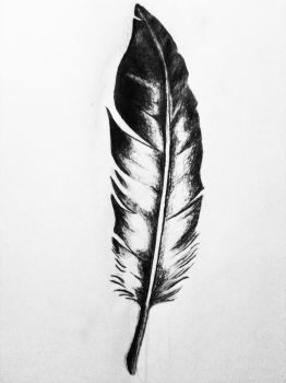 Feather Tattoo Idea 2 by theLightWalker