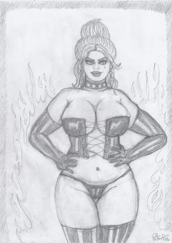 Black Queen of the Hellfire Club by yerbouti