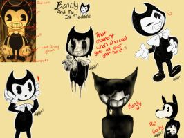 Bendy and the ink machine by DerpySpringy