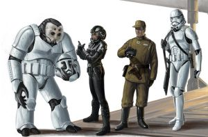 Legacy Era Imperial troops by BenWootten