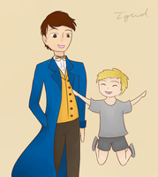 Scamander Family by the-girl-who-drew