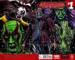 Guardians of the galaxy 1 by theblacksheep79