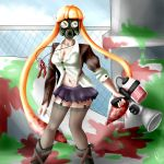 Splatoon: Inkling girl by MissCreepypastaYT