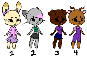 Anthro Adopts (CLOSED) by Momoka-Adopts
