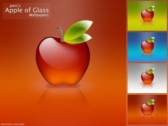 Apple of Glass by jatin