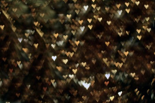 heart bokeh v2 by GreenMouthwash