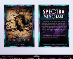 Spectra Psyclus - cards -11-Anthronoid by R1Design