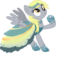 Derpy's Gala Dress by LottaPotatoSalad