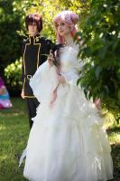 Euphemia and Suzaku - Who is there? by Thesan13